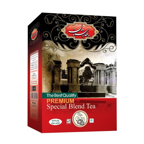 چای سیاه بهارستان مدل کلکته هندوستان بسته 450 گرمی