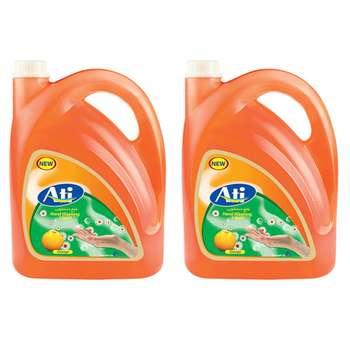 مایع دستشویی آتی مدل فرمیک Orange وزن 3750 گرم بسته 2 عددی