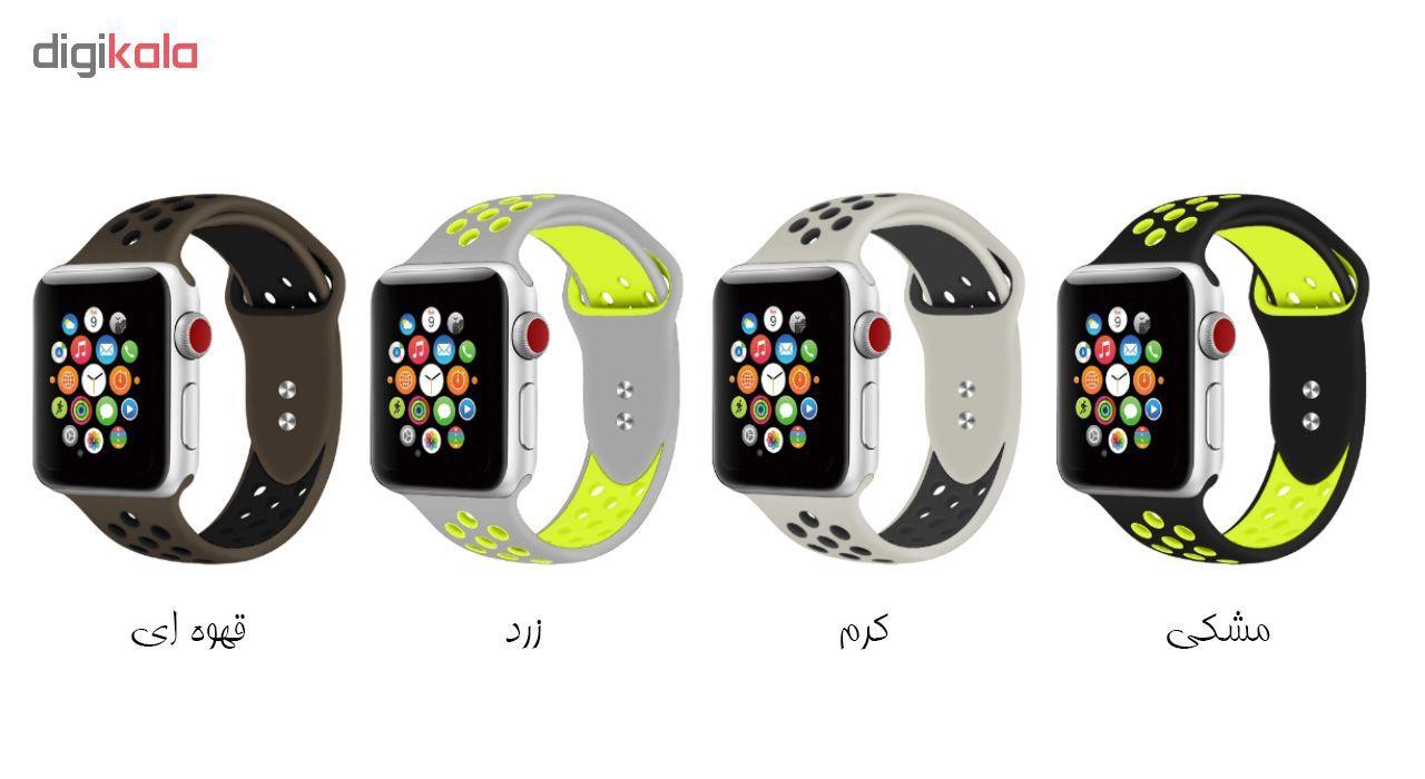 بند سیلیکونی طرح Nike مناسب برای اپل واچ 38 میلی متری main 1 25