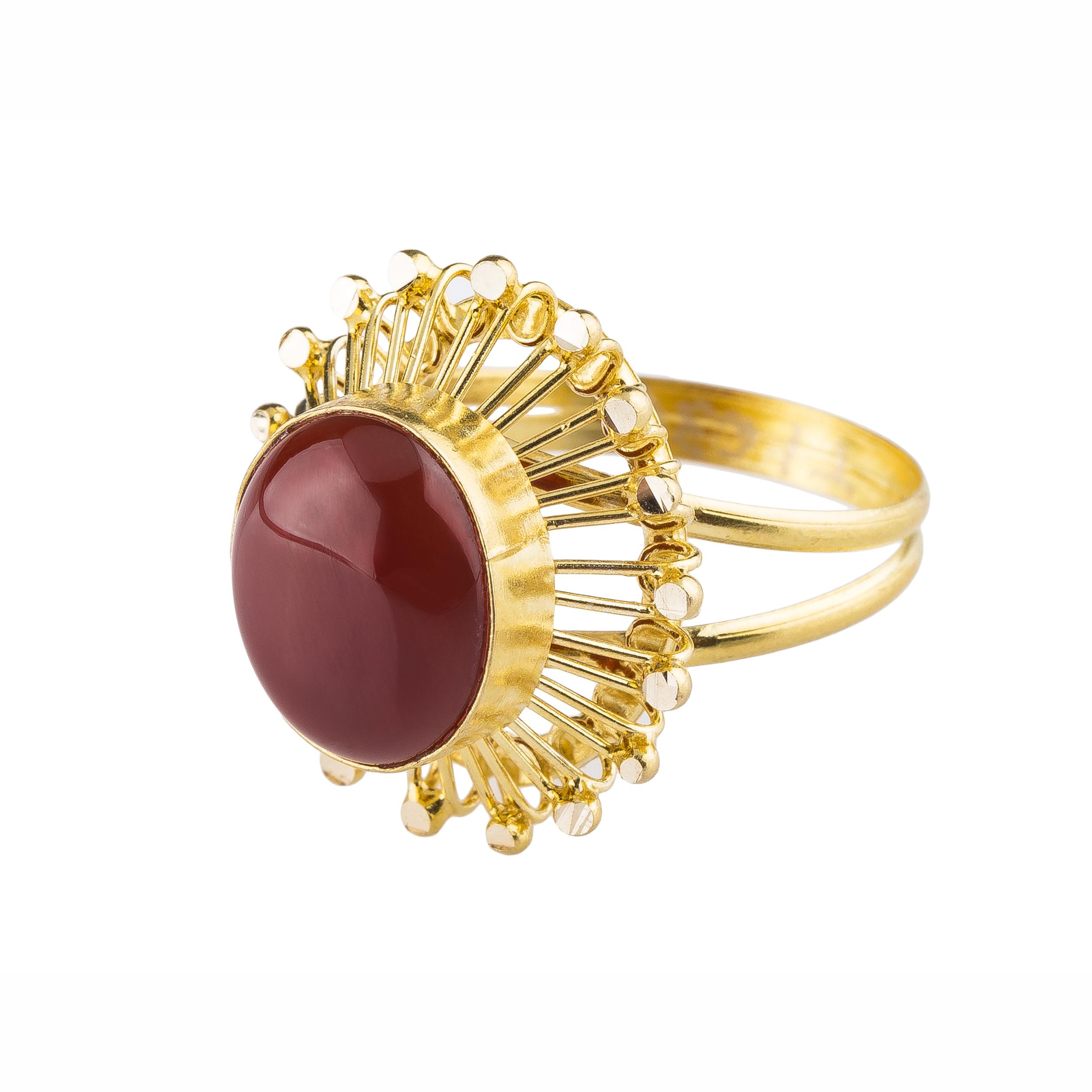 قیمت انگشتر طلا 18 عیار کد R104