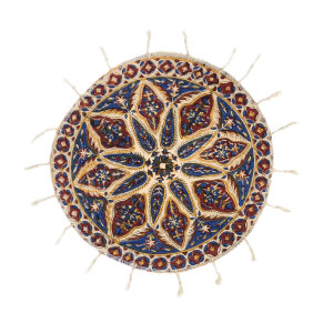 رومیزی قلمکار ممتاز اصفهان اثر عطريان طرح سرو مدل G167