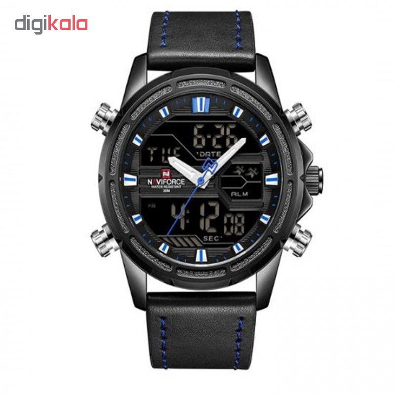 ساعت مچی دیجیتال مردانه نیوی فورس مدل NF9138M/MA