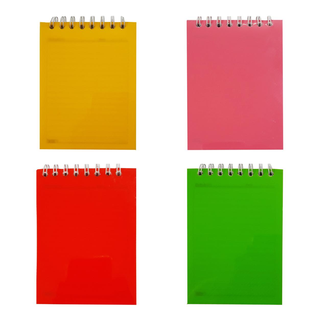 دفترچه یادداشت 60 برگ تکنو کد T32 بسته 4 عددی