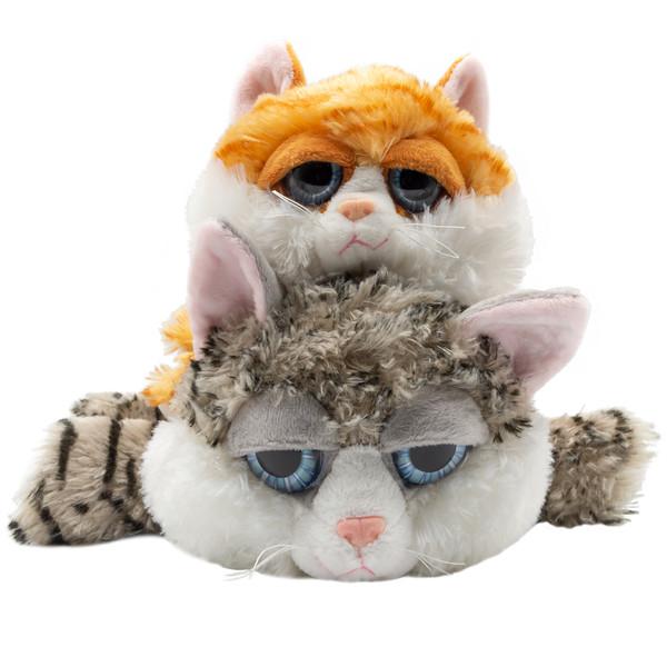 عروسک بی جی دالز طرح گربه خوابیده کد GR2BR1 مجموعه 2 عددی