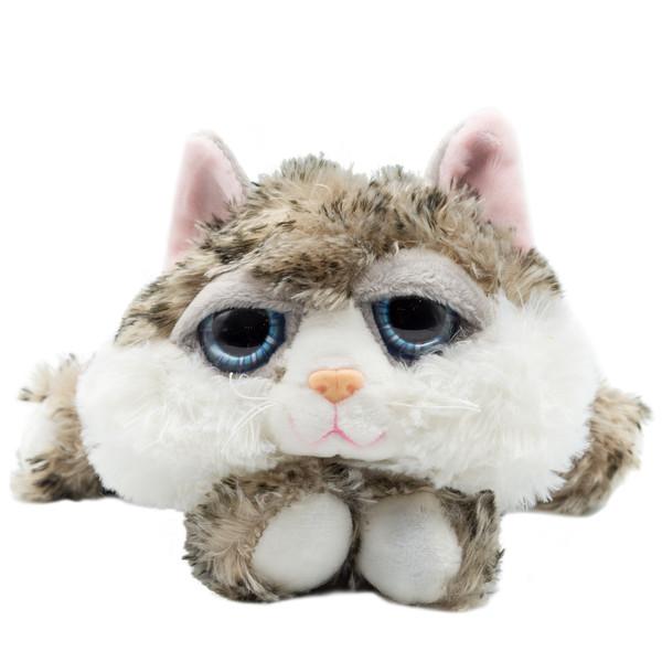 عروسک بی جی دالز طرح گربه خوابیده کد GR1 طول 18 سانتی متر