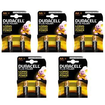 باتری قلمی دوراسل مدل Plus Power Duralock بسته 10 عددی