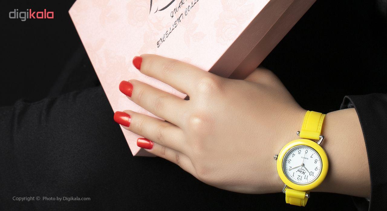 ساعت مچی عقربه ای دخترانه هیمی مدل Excellent Collection بسته دو عددی