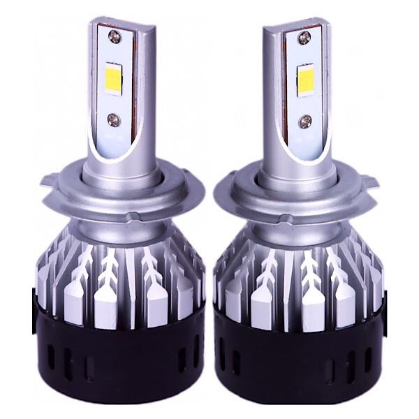 هدلایت لامپ خودرو D11مدل H7 فلیپ بسته ۲عددی