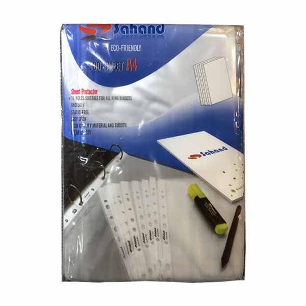 کاور کاغذ A4 سهند کد 131319 بسته 100 عددی