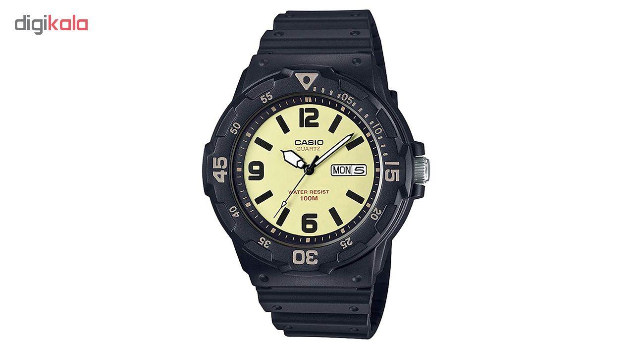 کد تخفیف                                      ساعت مچی عقربه ای مردانه کاسیو مدل MRW-200H-5BVDF