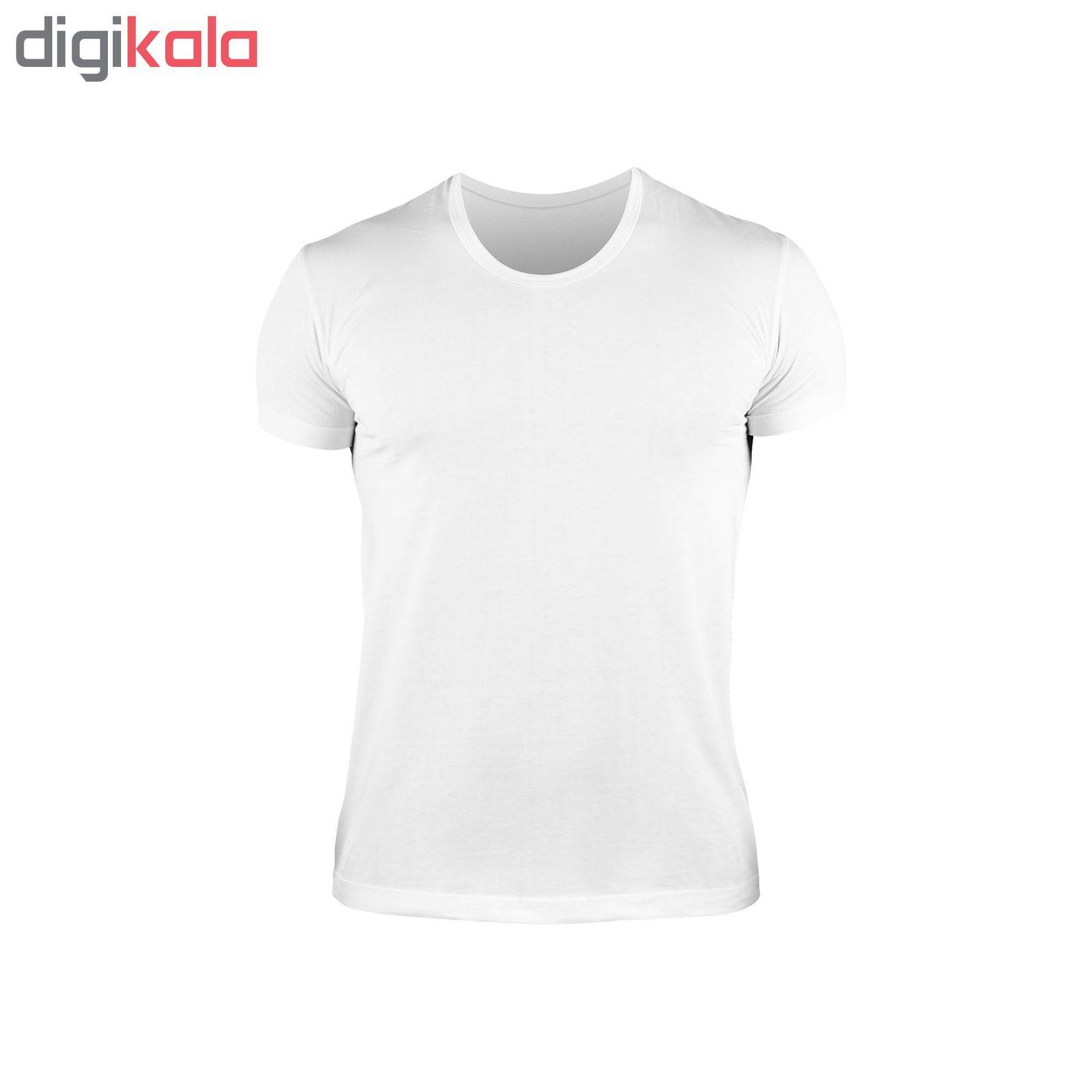 زیرپوش مردانه کیان تن پوش مدل U Neck Shirt Classic W مجموعه ۳ عددی main 1 3