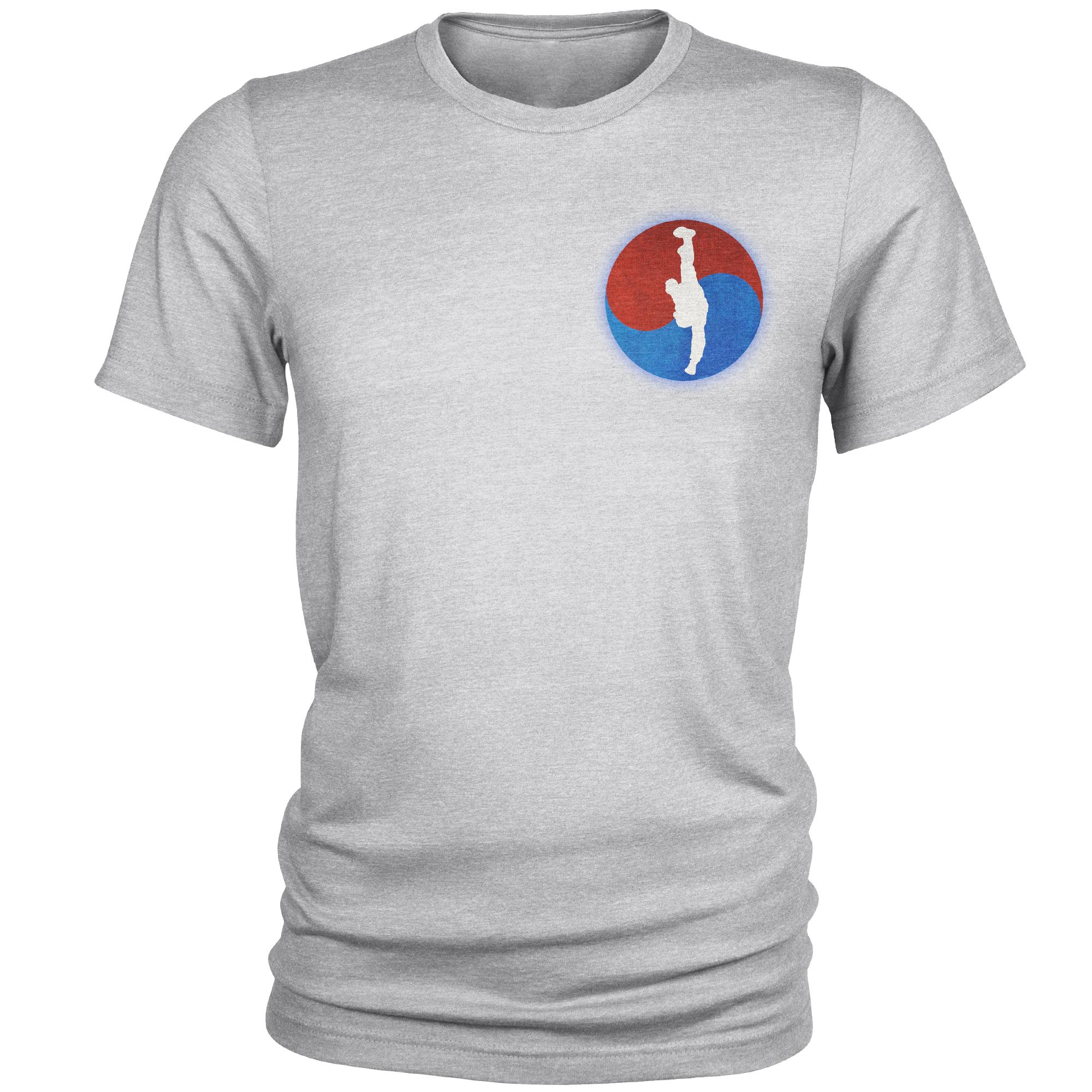 تی شرت مردانه طرح تکواندو کد C29