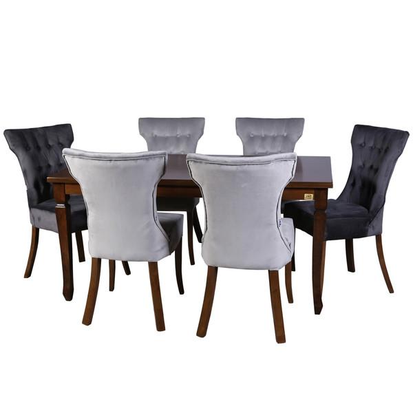میز و صندلی ناهار خوری چوبکو مدل 115