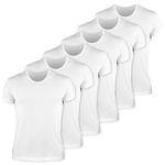 زیرپوش مردانه کیان تن پوش مدل U Neck Shirt Classic W مجموعه 6 عددی thumb