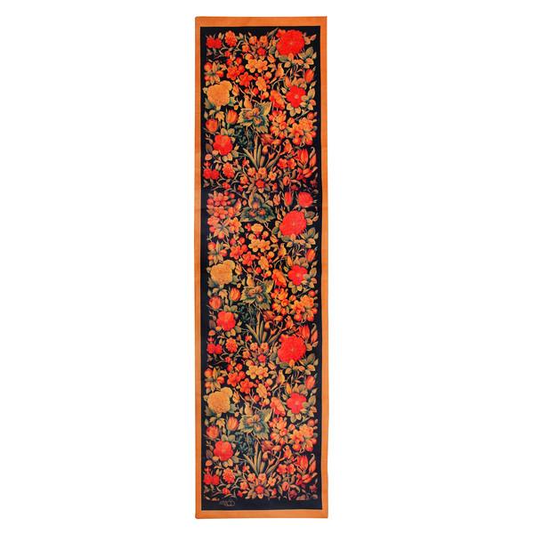 رانر گالری قلم فلزی طرح گل و مرغ کد 256066