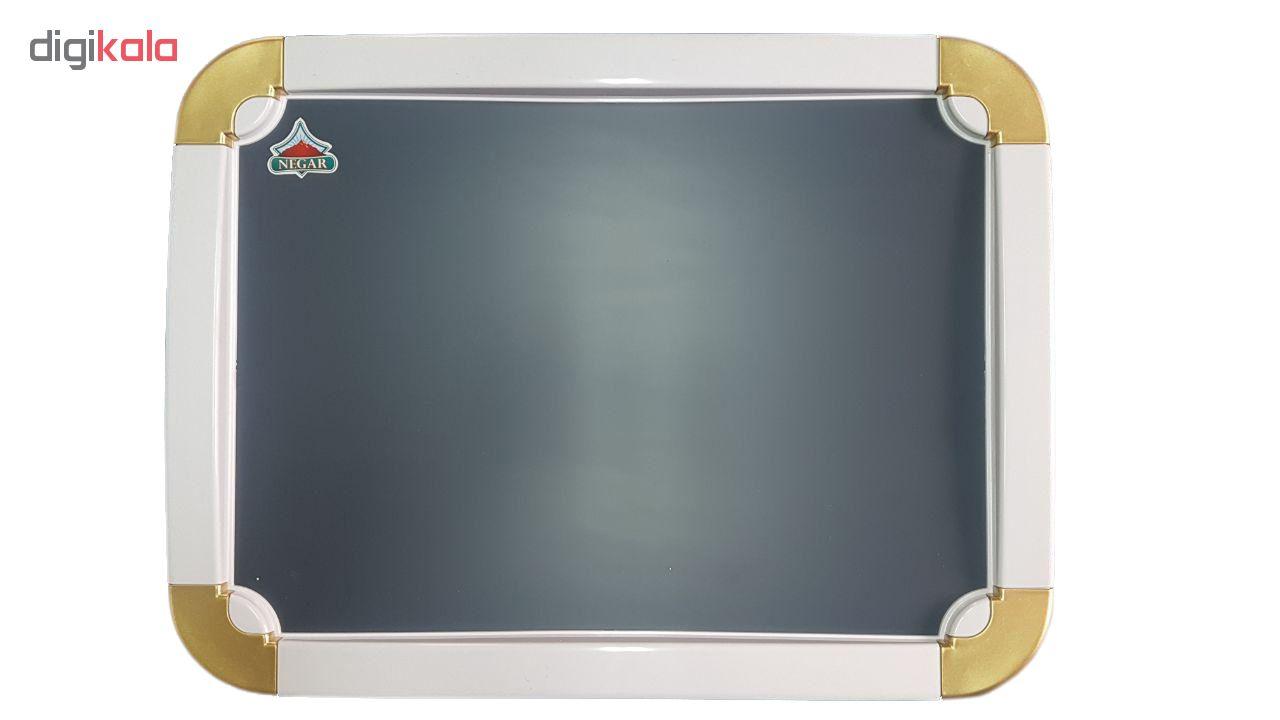 ست سرویس بهداشتی 6 پارچه نگار مدل 807 به همراه آینه main 1 4