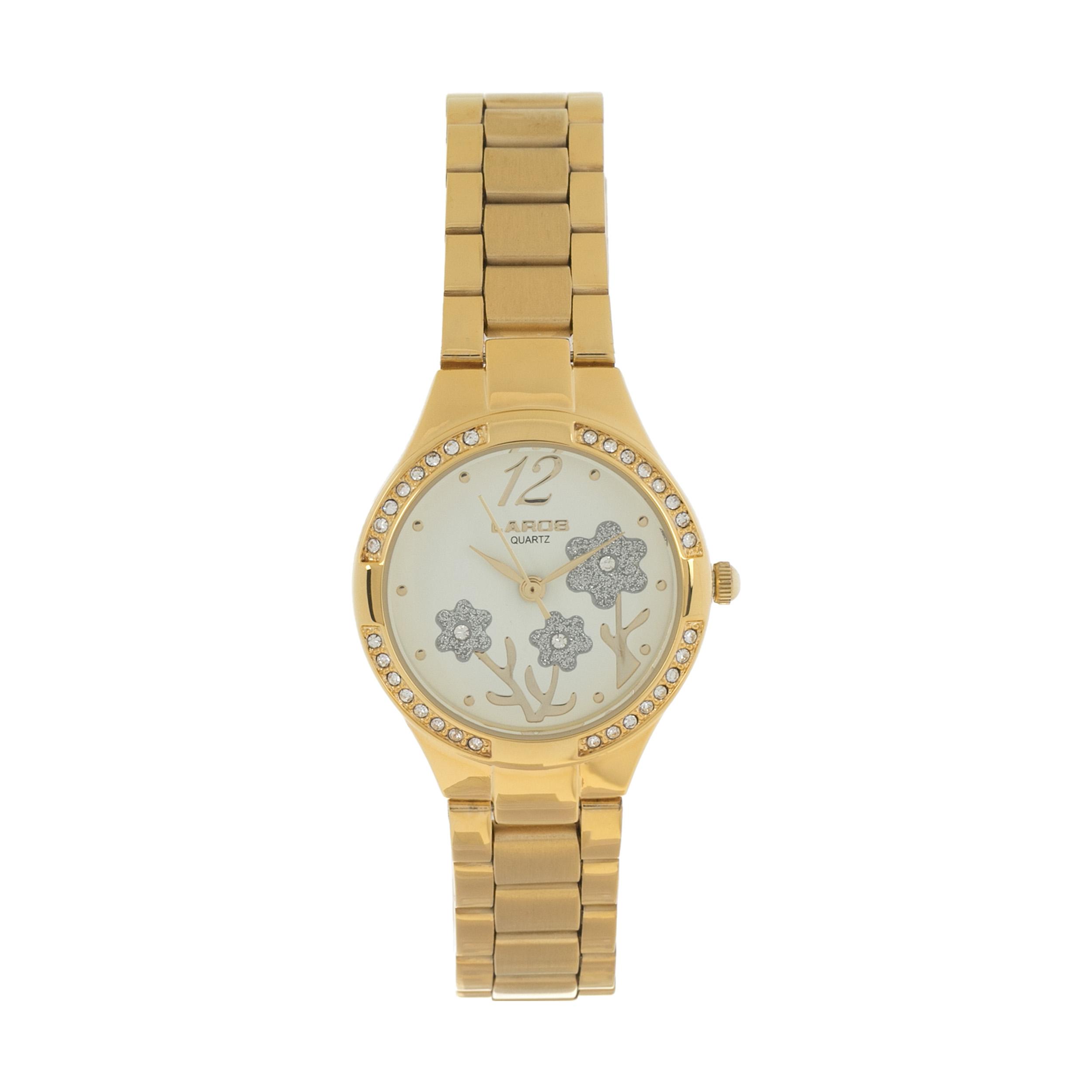 ساعت مچی عقربه ای زنانه لاروس مدل LR454