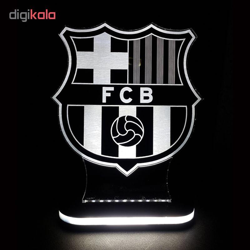 چراغ خواب طرح تیم بارسلونا کد 1065