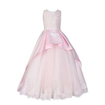 پیراهن دخترانه مدل Princess Style 2019   Princess Style 2019 Dress for Girls