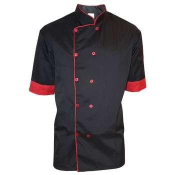 لباس کار مدل 2 IGD Chef رنگ مشکی |