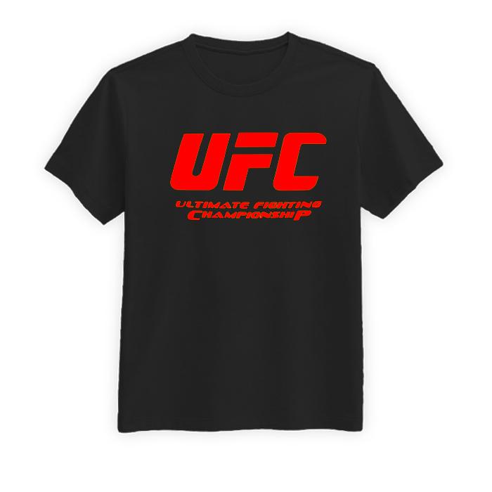 تیشرت نخی مردانه طرح UFC مدل BR13303
