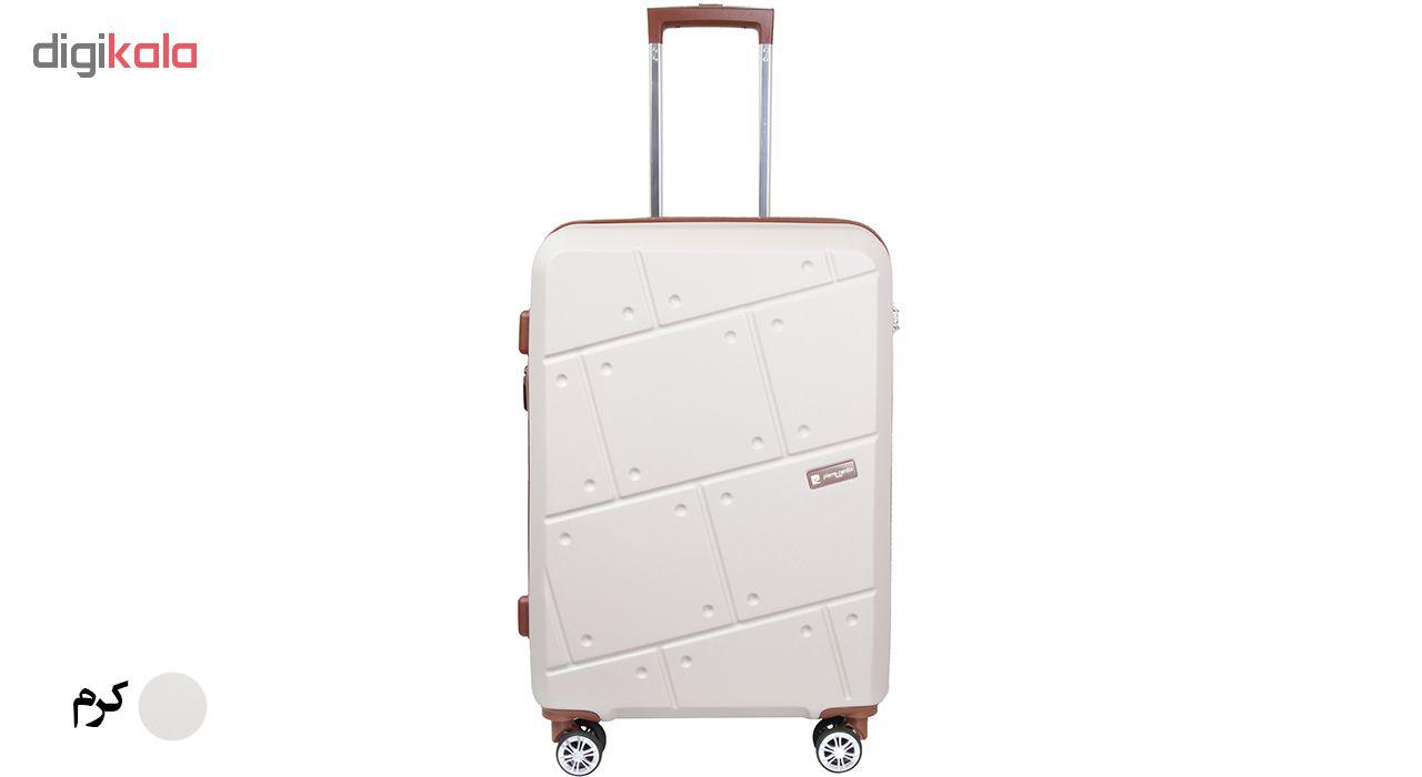 چمدان هارد پیرکاردین مدل 606314 سایز متوسط