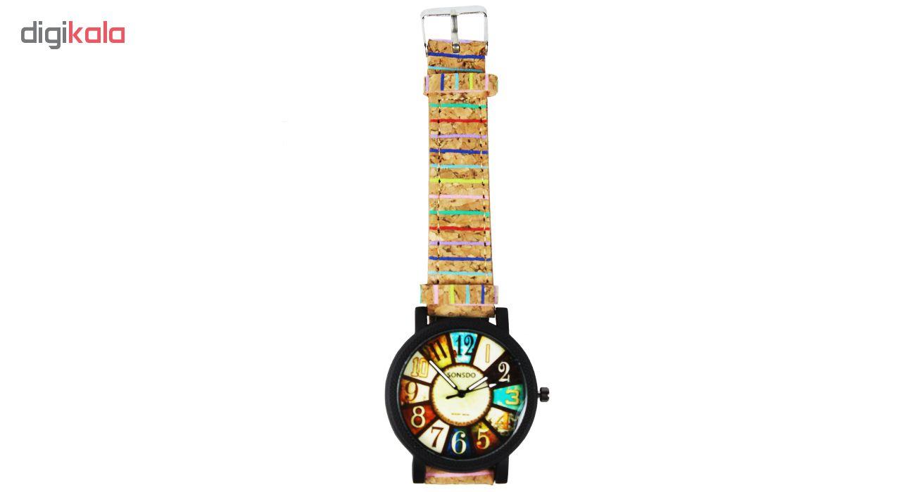 ساعت مچی عقربه ای مردانه سونسدو مدل S-01