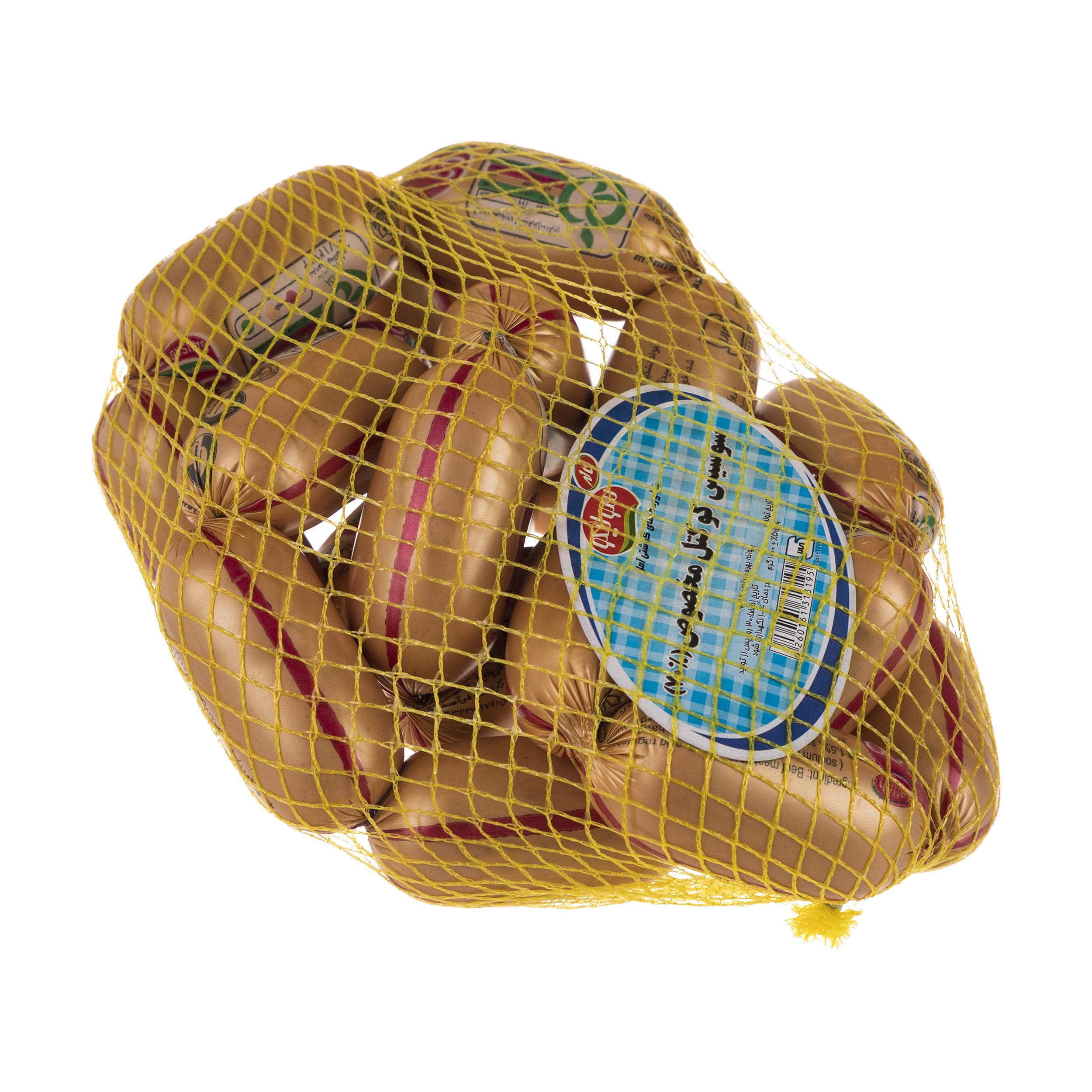 سوسیس کوکتل مخصوص 70 درصد سولیکو کاله وزن 1 کیلوگرم thumb