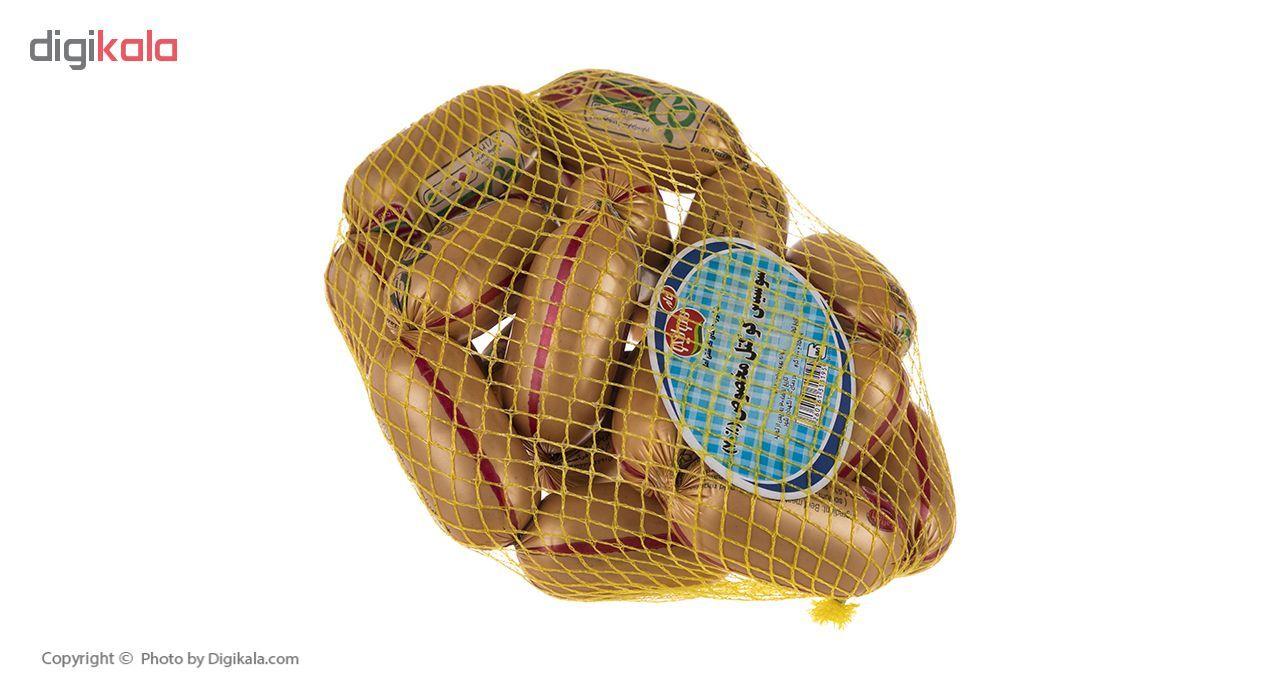 سوسیس کوکتل مخصوص 70 درصد سولیکو کاله وزن 1 کیلوگرم main 1 2