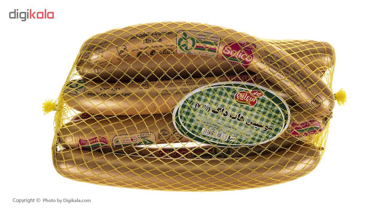 سوسیس هات داگ 70 درصد سولیکو کاله وزن 1 کیلوگرم