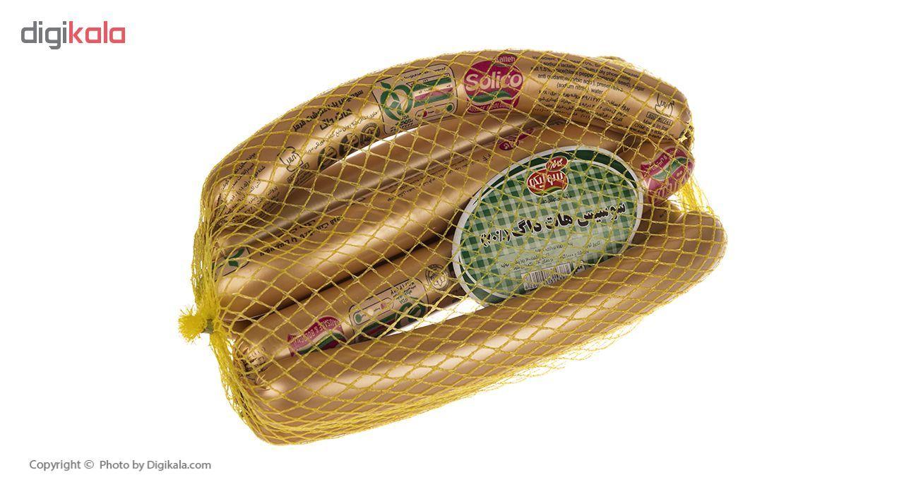 سوسیس هات داگ 70 درصد سولیکو کاله وزن 1 کیلوگرم main 1 2