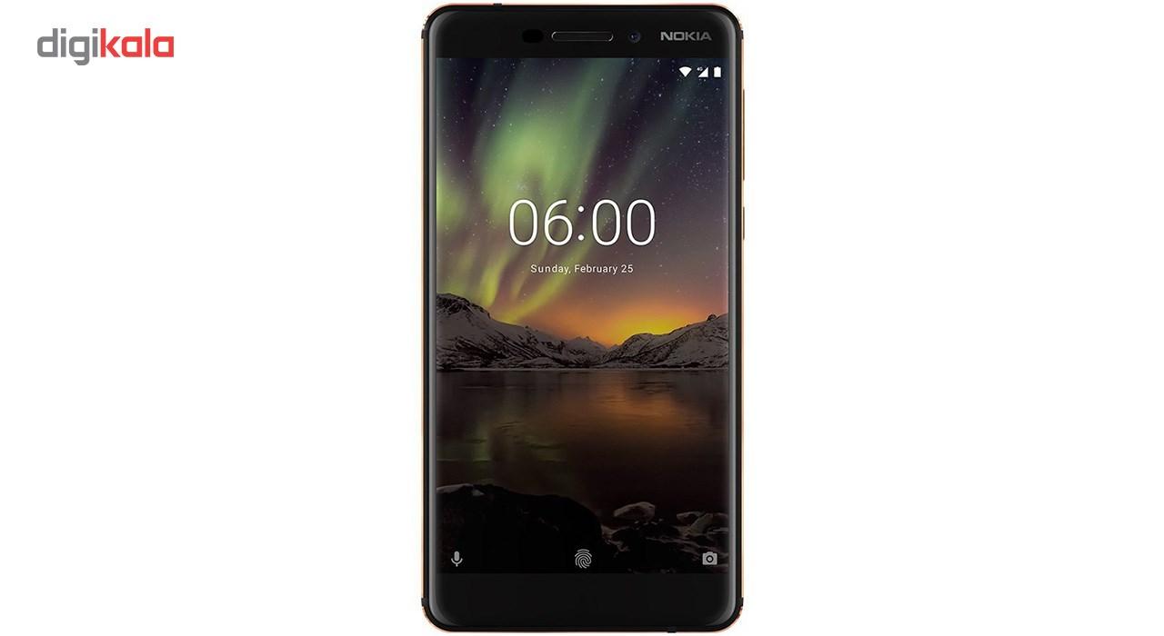 گوشی موبایل نوکیا مدل 6.1 دو سیم کارت ظرفیت 64 گیگابایت