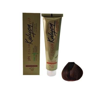 رنگ مو کالیون سری طبیعی شماره N4حجم 125 میلی لیتر رنگ قهوه ای روشن