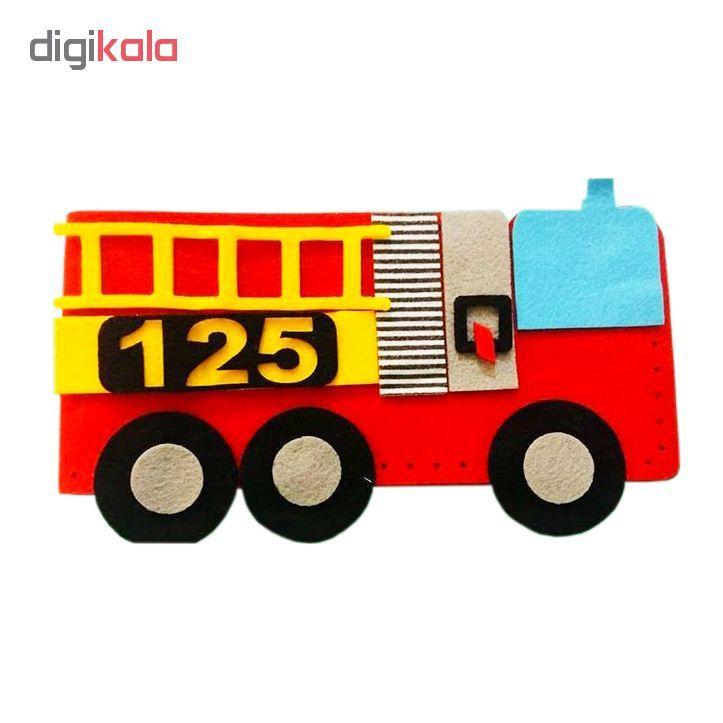 ساختنی خیاط کوچولو طرح آتش نشانی کد z2 main 1 1