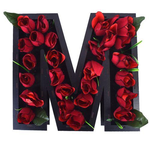 جعبه و گل مصنوعی طرح M کد 2012