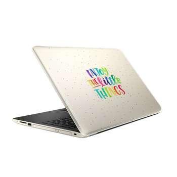 استیکر لپ تاپ طرح لذت بردن مدل ML080 مناسب برای لپ تاپ 15.6 اینچ