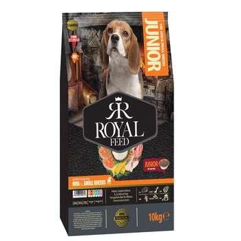 غذای خشک سگ های جوان نژاد کوچک رویال مدل mini & small junior وزن 10 کیلوگرم