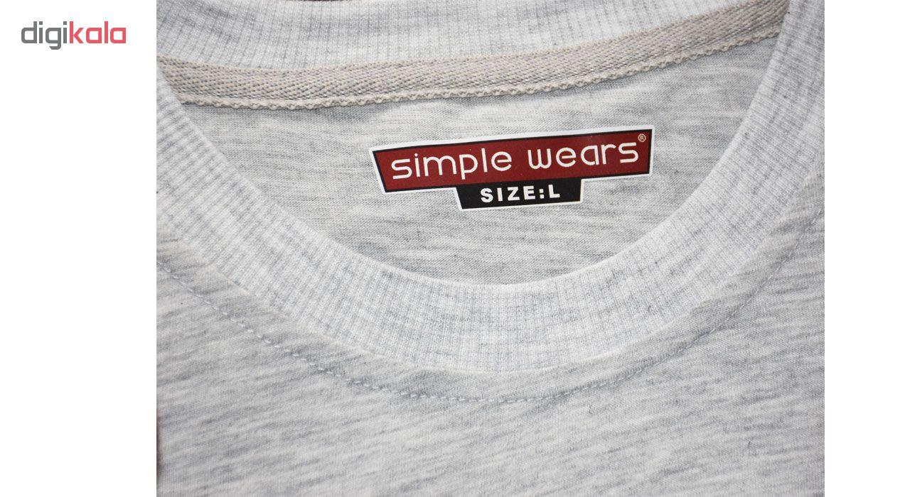 تیشرت مردانه سیمپل ورز مدل 004