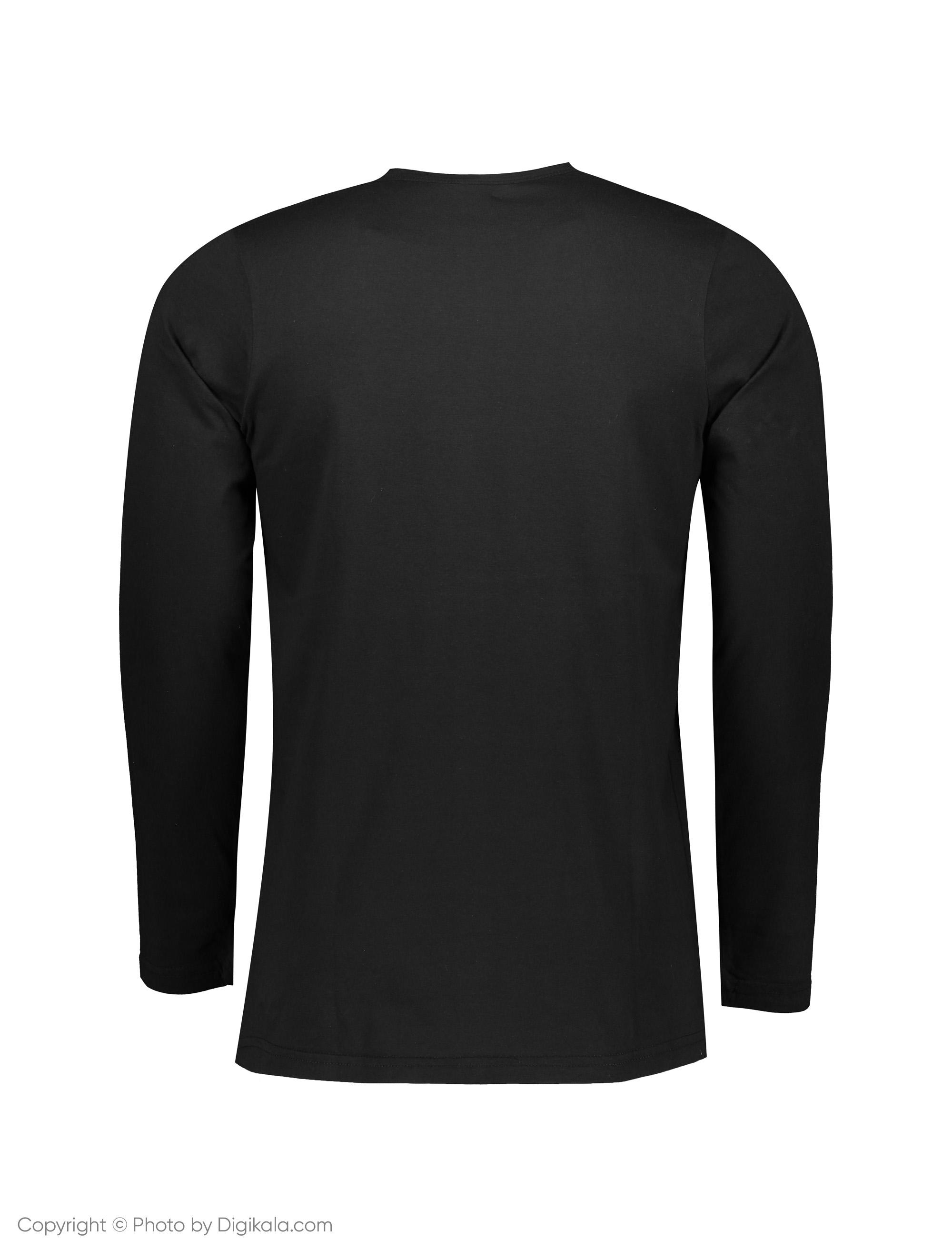 تی شرت مردانه آگرین مدل 1431135-99 -  - 3