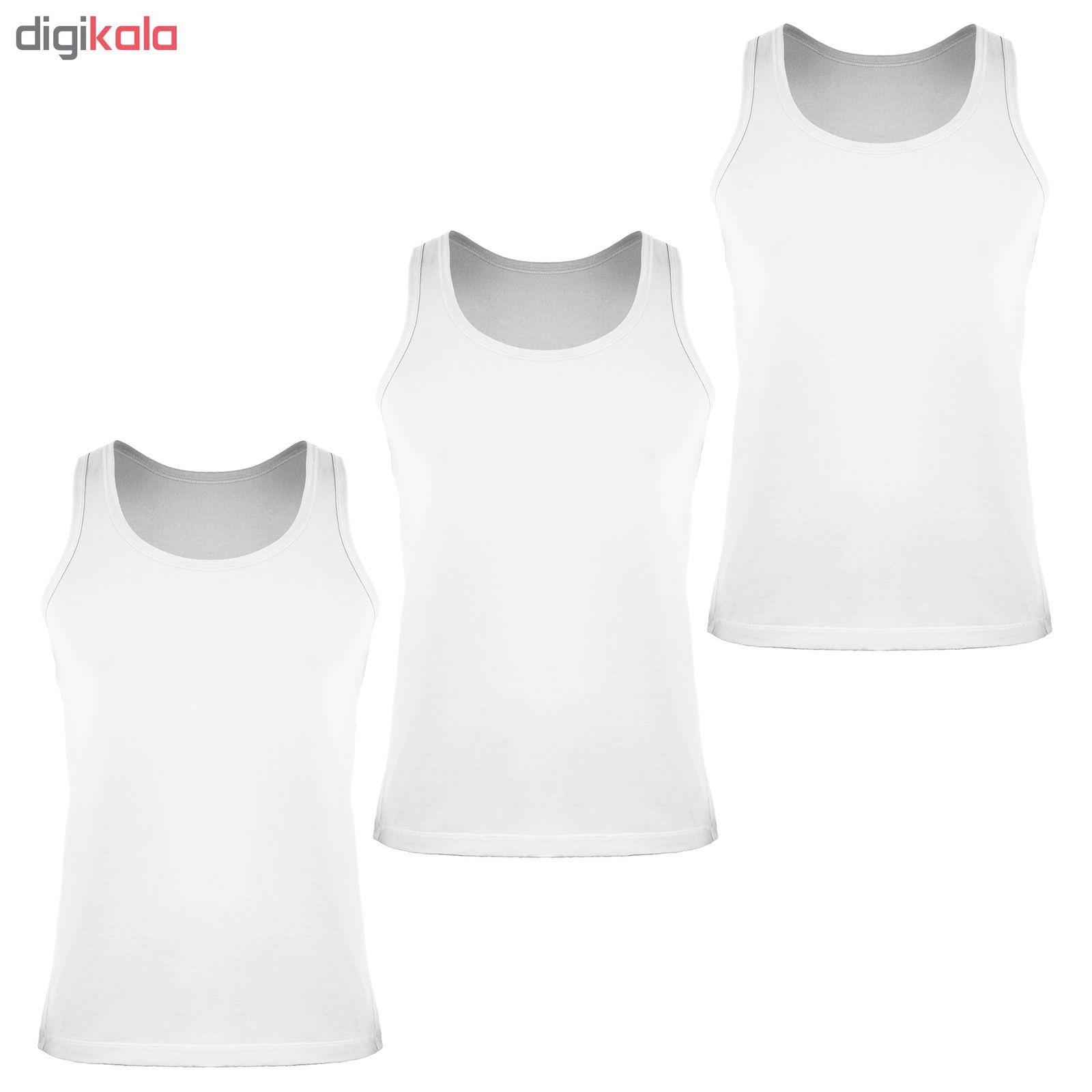 زیرپوش رکابی مردانه کیان تن پوش مدل A Shirt Classic W بسته ۳ عددی main 1 1
