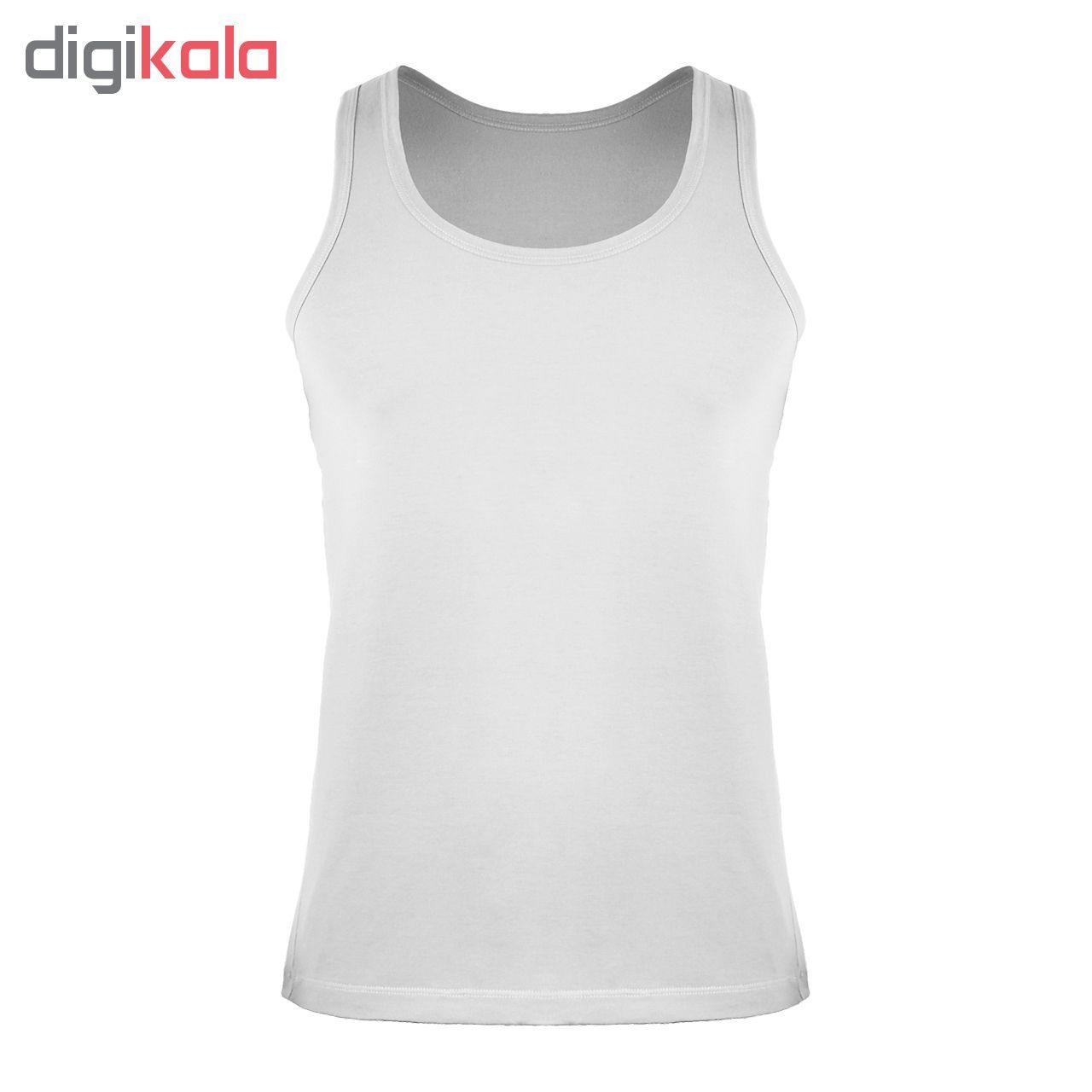 زیرپوش رکابی مردانه کیان تن پوش مدل A Shirt Classic W بسته ۳ عددی main 1 2