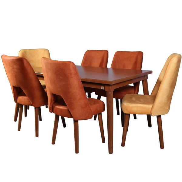 میز و صندلی ناهار خوری چوبکو کد 117