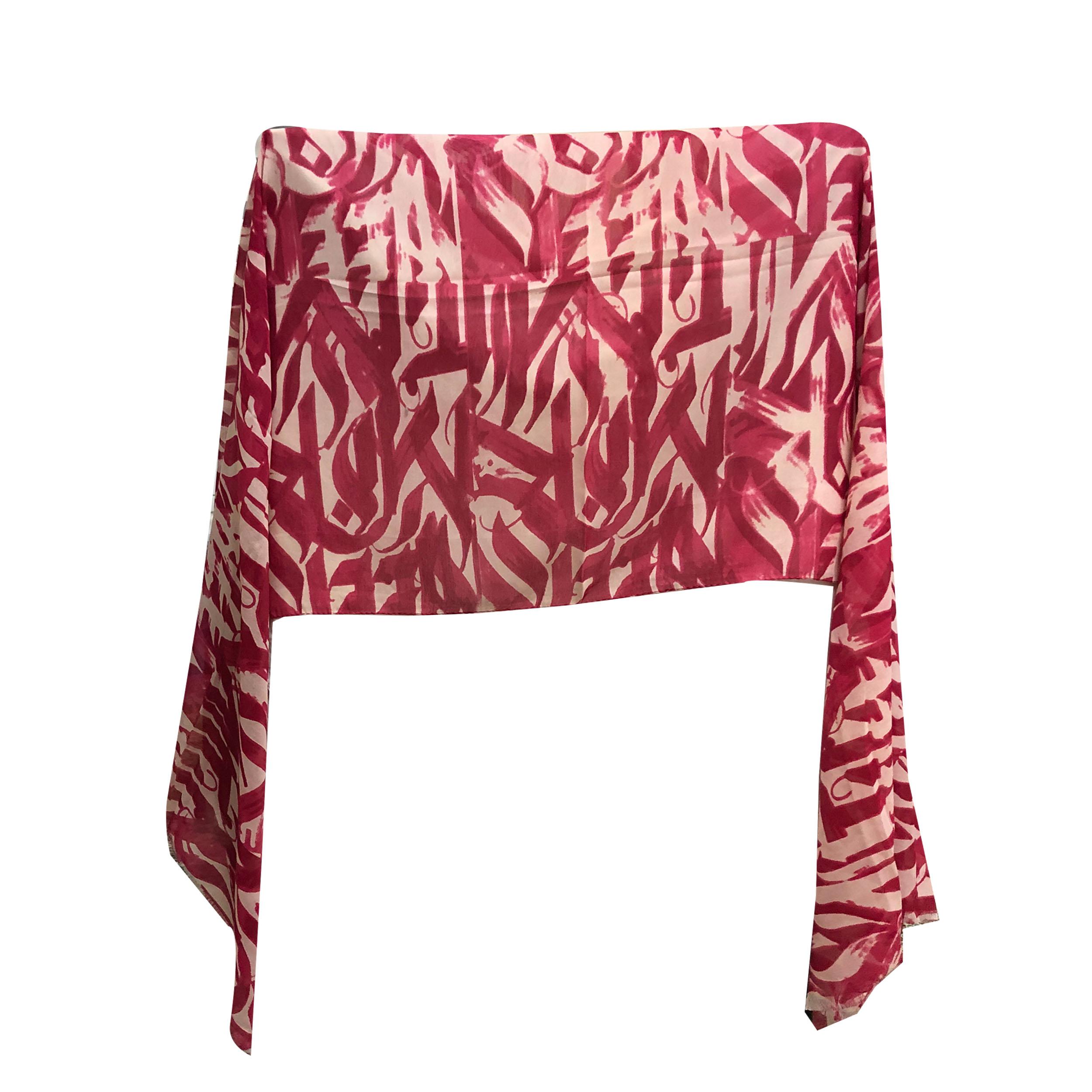 شال زنانه شاین نخی ریشه دار کد 10004