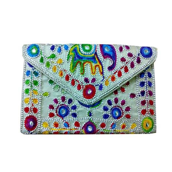 کیف دستی زنانه  سوزندوزی کد A-105