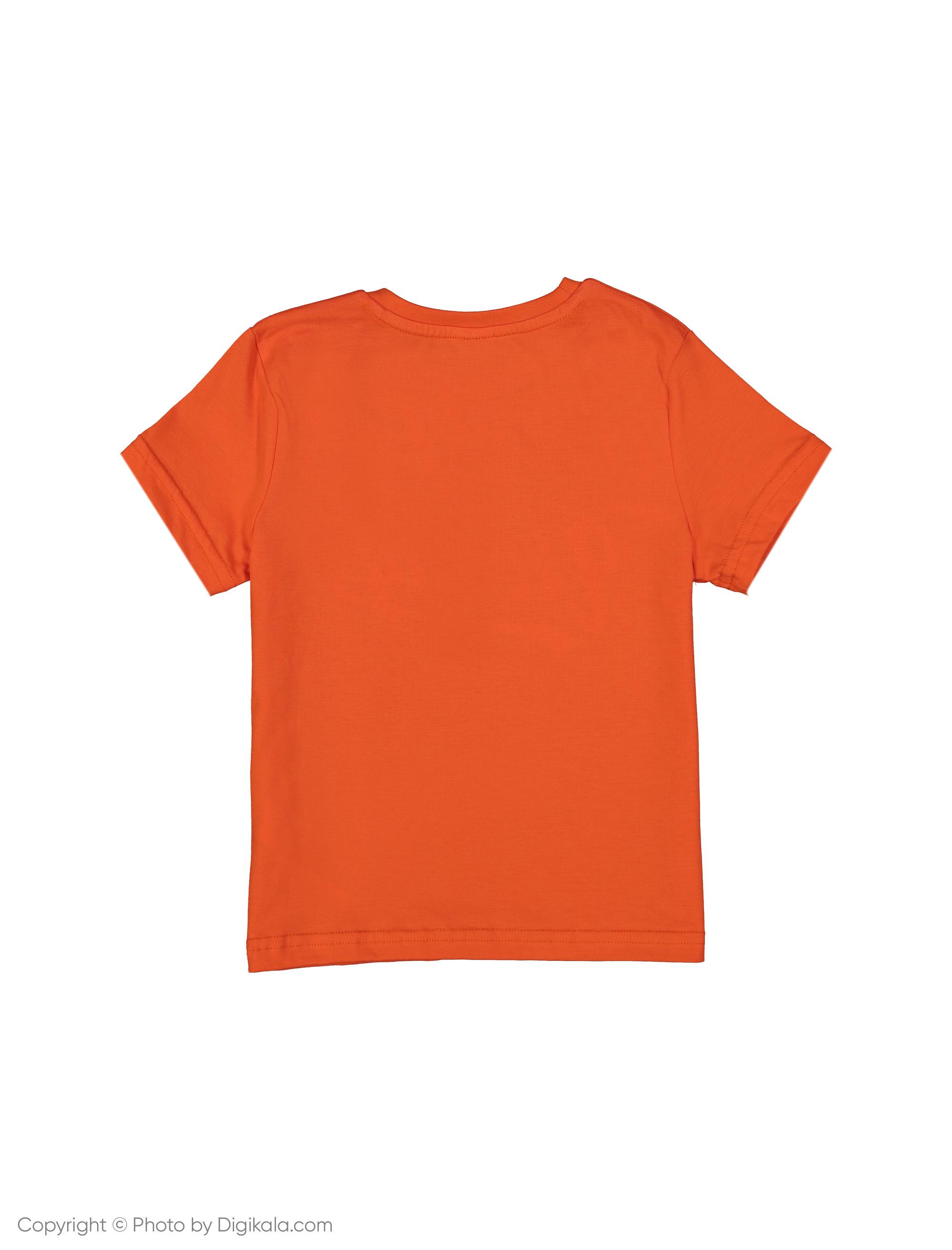 تی شرت پسرانه ال سی وایکیکی مدل 9SI733M4-GMT -  - 2