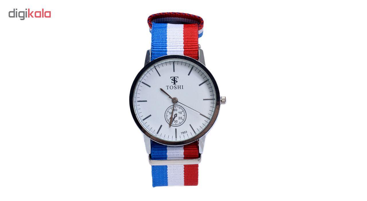 خرید ساعت مچی عقربه ای مردانه توشی کد Toshi-BWR