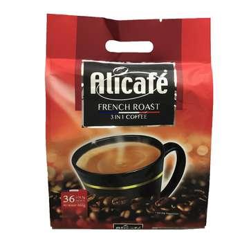 قهوه فوری علی کافه مدل French Roast بسته 36 عددی