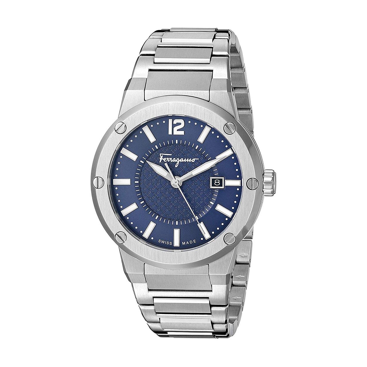 کد تخفیف                                      ساعت مچی عقربه ای مردانه سالواتوره فراگامو مدل FIF030015