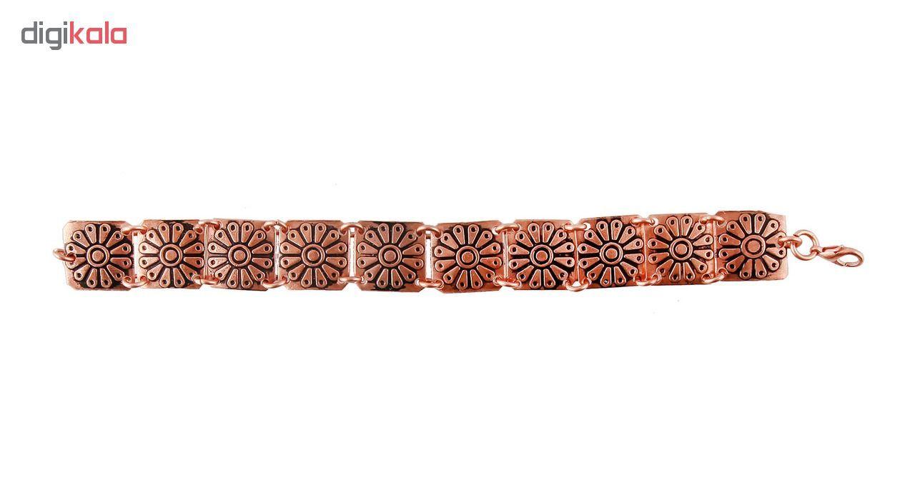 دستبند زنانه مسی گالری مثالین  کد 149217 سایز Free Size main 1 1
