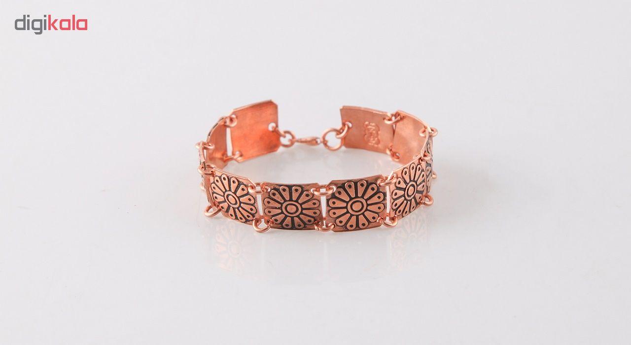 دستبند زنانه مسی گالری مثالین  کد 149217